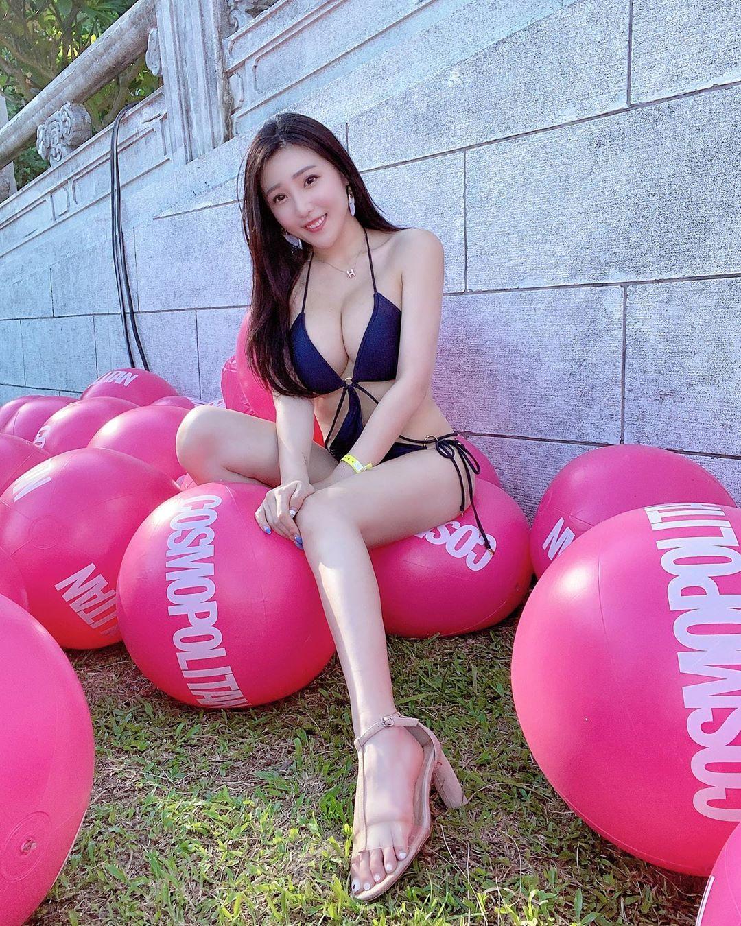 Vivi Hsu, a Sport Goddess in Taiwan
