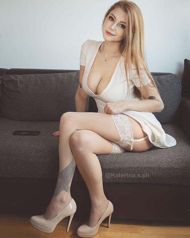 Katerina Soria, Busty Ukraine Model