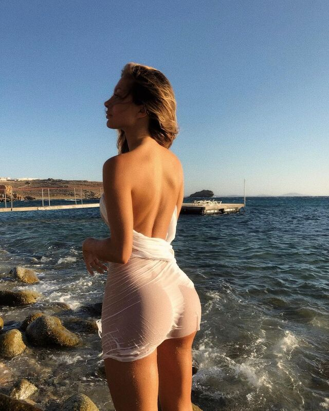 Mathild Tantot, a Well Known Model and Social Media Influencer Based in France