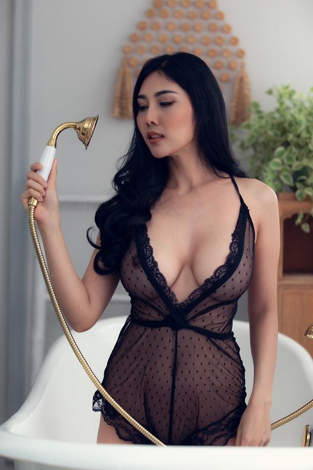 Pim pattama, Sexy Nude Model From Thai