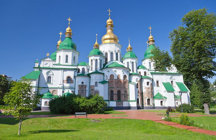 Three places recommended to visit in Kiev, Ukraine