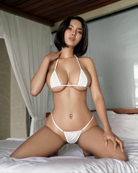 Yanisa Samohom, Busty and Sexy Model from Thailand