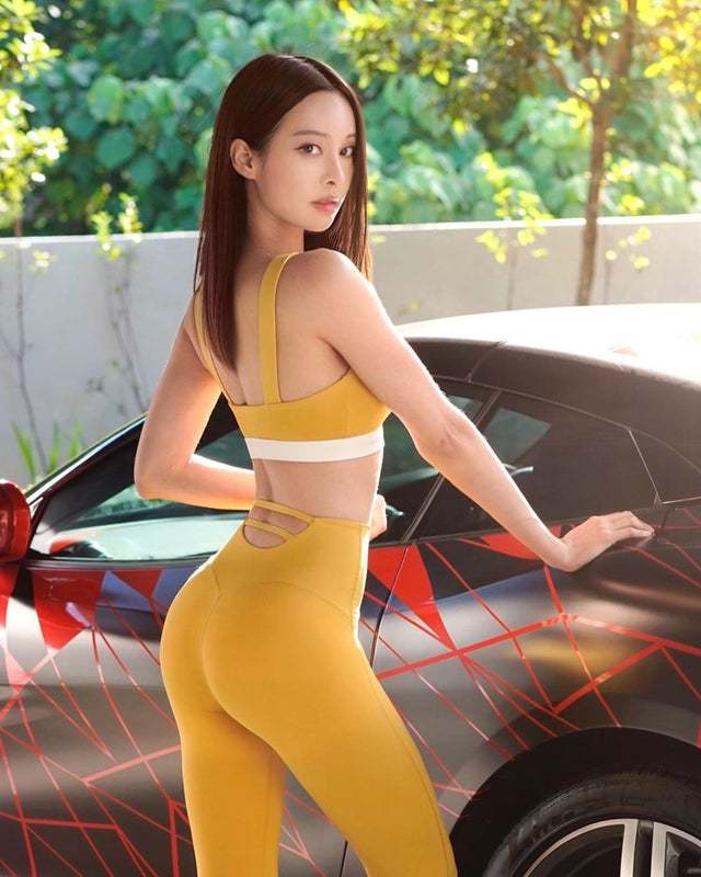 Cathryn Li, Fit Malaysian Pianist and Actress